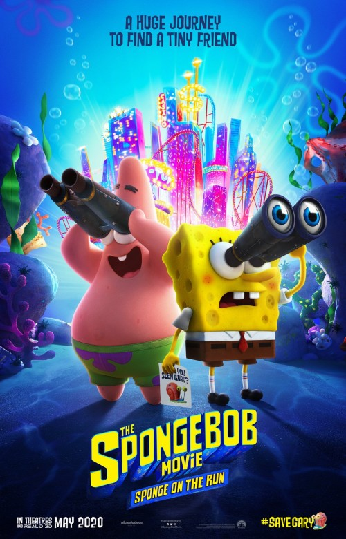 7889.The SpongeBob Movie Sponge on the Run